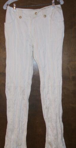 Dress Crinkle Pants Tuzzi 10 ~ nwtgs sz Par Off White 358 ~ E5wqygCZx