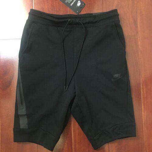 Fleece Nike 010 Slim Sportswear talla Negro Nuevo 805160 Shorts Hombre Xs Fit Tech EFdzxnw4q
