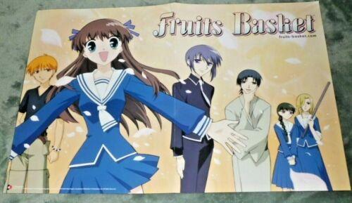 Funimation RARE Fruits Basket and Kodocha Wall Art Manga Anime Poster 17x11