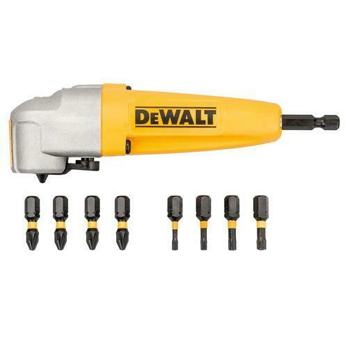 DEWALT DT70619 Acoplamiento angular C/9 puntas IMPACT TORSION