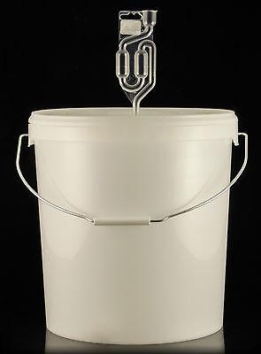 30 Liter Gärbehälter mit Ablasshahn und Gärrörchen