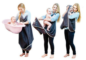 100% Terry Coton à Capuche Bébé Serviette De Bain Extra Large Mum Boy Girl Tablier Wrap-afficher Le Titre D'origine Facile à RéParer