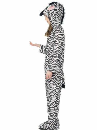 CK839 Zebra Farm Costume Animal Kids Child Book Week Fancy Dress Jumpsuit