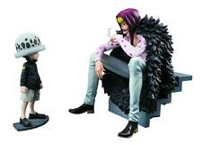 MEGAHOUSE ONE PIECE POP PORTRAIT OF PIRATES CORAZON & LAW EDITION NEW LICENSED