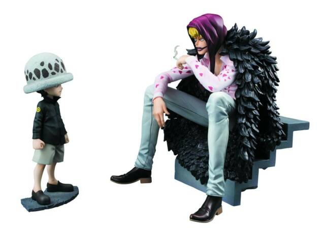 MEGAHOUSE ONE PIECE POP PORTRAIT OF PIRATES CORAZON /& LAW EDITION NEW LICENSED