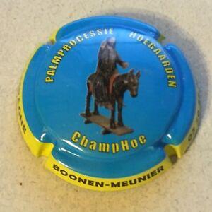 Cuvée CHAMPOE 0083 CAPSULE DE CHAMPAGNE Récoltant BOONEN MEUNIER n°16
