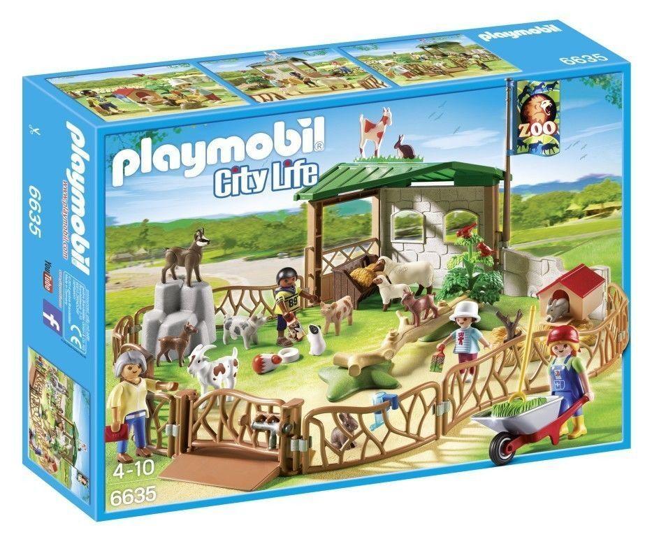 PLAYMOBIL® City Life Zoo 6635  Streichelzoo  Tierpark Zoo NEU OVP NEW MISB