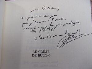 ENVOI-AUTOGRAPHE-LE-CRIME-DE-BUZON-Francois-Bon