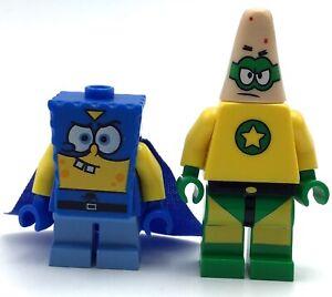 Lego Minifigure Spongebob Squarepants Lot D ~ Patrick /& 2 Different SpongeBob