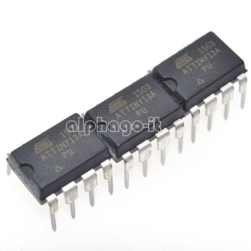 5 Pcs ATTINY13A-10PU ATTINY13 ATTINY13V Microcontroller IC NEW