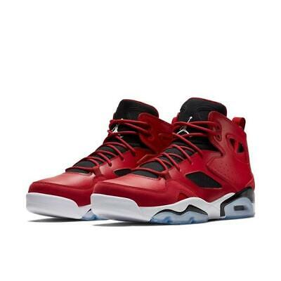 new arrival 81119 2a163 Jordan Jumpman Flight Club '91 Gym Red Black White 555475-600 Air Retro 6 7  Mens | eBay