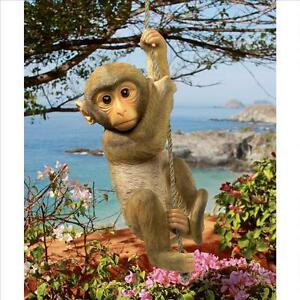 Design-Toscano-Exclusive-16-034-Chico-The-Chimpanzee-Hanging-Baby-Monkey-Statue