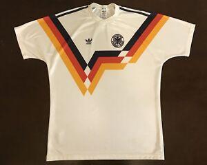 Details About Rare Vintage 80 S Adidas Germany Deutcher Fussball Bund Futbol Soccer Jersey