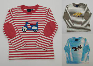 MINI-BODEN-L-S-STRIPED-TOP-TEE-TRANSPORT-AIRPLANE-CAR-MOPED-AGES-1-8-FREEPOST