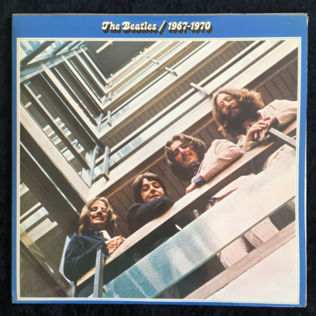 LP, The Beatles, The Blue Album 1967-1970, Sammen med…