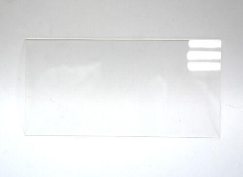2pc Acrylic sheet 200x100x2mm Transparent Clear Taiwan