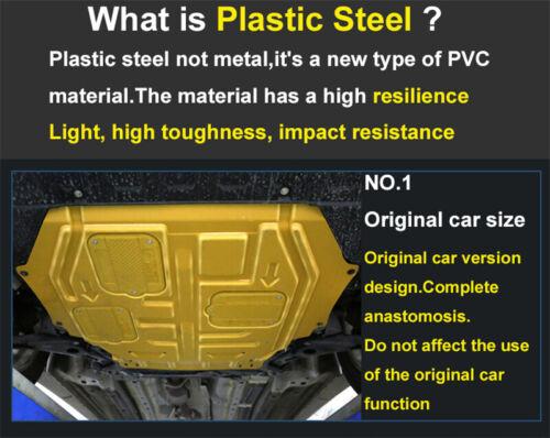 Gold Front Engine Splash Shield Under Cover Mudguard Fits Honda Civic 2016-2020