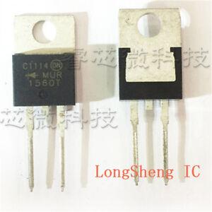 20-PCS-MUR1560G-TO-220AC-MUR1560-1560-15A-400V-600V-Ultrafast-Diodes-new