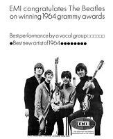 Beatles Grammy Awards Ad Replica Photo Print 8x10