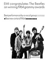 Beatles Grammy Awards Ad Replica Photo Print 8x10