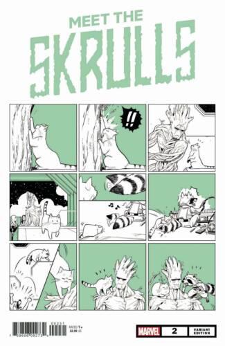 USA J390 OF 5 MARVEL COMICS FUJI CAT VAR US-COMIC MEET THE SKRULLS #2