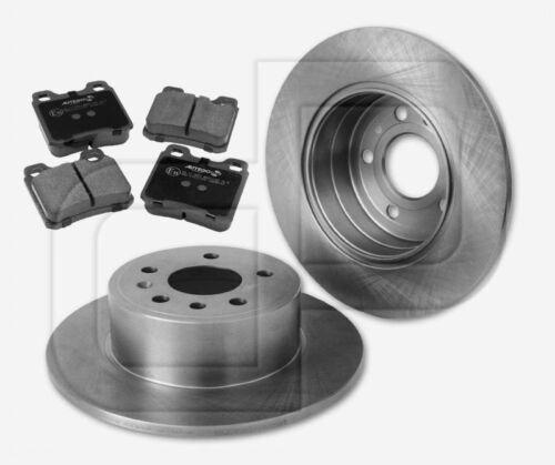 bis 08//1996 hinten 286 mm 2 Bremsscheiben 4 Bremsbeläge SAAB 900 II ab Fgst