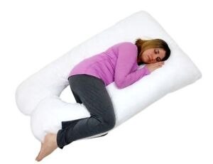 New Total Body Full Support Pregnancy Pillow U Shape
