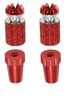 Spektrum DX6i DX7S DX8 DX9 TX Gimbal Sticks #1711 Apex RC Products Red Futaba