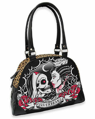 Abile Liquor Brand Donna Sailor Nurse Borsetta/bags. Tatuaggio, Pin Up, Biker, Custom Style-s.tattoo,pin Up,biker,custom Style It-it Mostra Il Titolo Originale