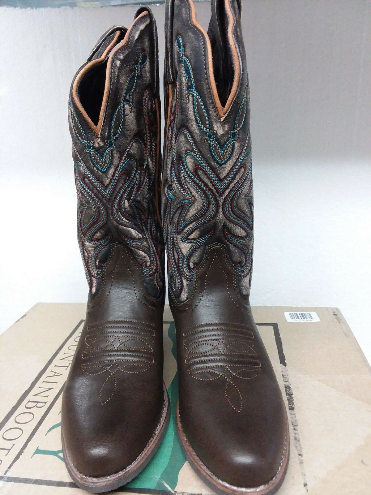 Smoky Mountain Women's Fusion Western Boot, Round Toe, 6685, US; 7