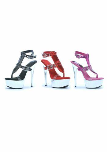 Ellie Shoes 609-GENEVA Women/'s 6 Inch Pointed Stiletto Sandal