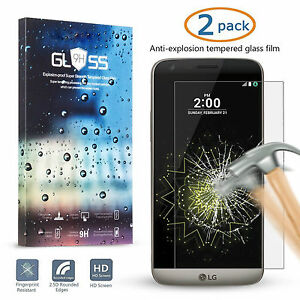9H-Premium-Real-Ultra-Thin-Tempered-Glass-Screen-Protector-Film-2pcsFor-LG-G4-G5