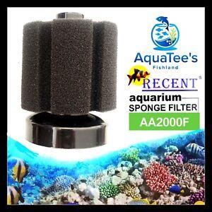2-x-PIECE-MINI-HI-FLOW-SPONGE-FILTER-FISH-TANK-WATER-PUMP-OXYGEN-SUBMERSIBLE