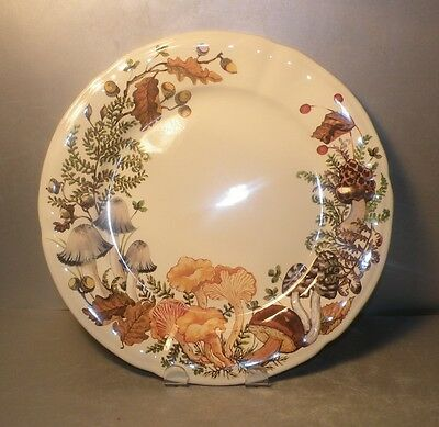 NEW  Dinner  Plate, from Chanterelle pattern GIEN,  France