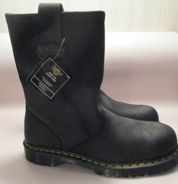 Dr Martens Men/'s Icon Industrial Strength Steel Toe Boot Slip Resistant Leather