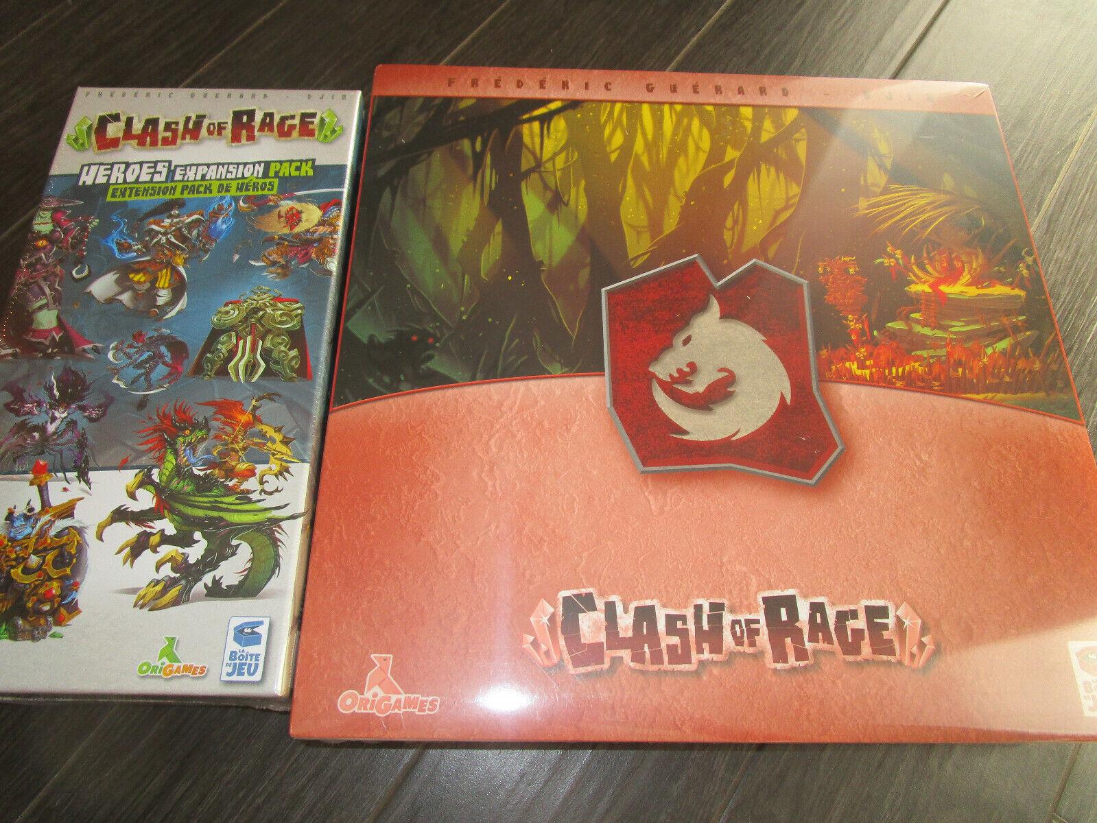 Clash of Rage bahorg tribu promesse + pédale de démarrage exclusive heroes Expansion