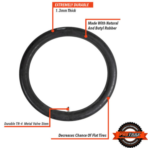 ProTrax PT1027 Motorcycle Standard Inner Tube 3.50 x 16 Inch Rear Tire