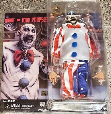 RARA Figura Action CAPTAIN SPAULDING Movie  HOUSE OF 1000 CORPSES Originale NECA