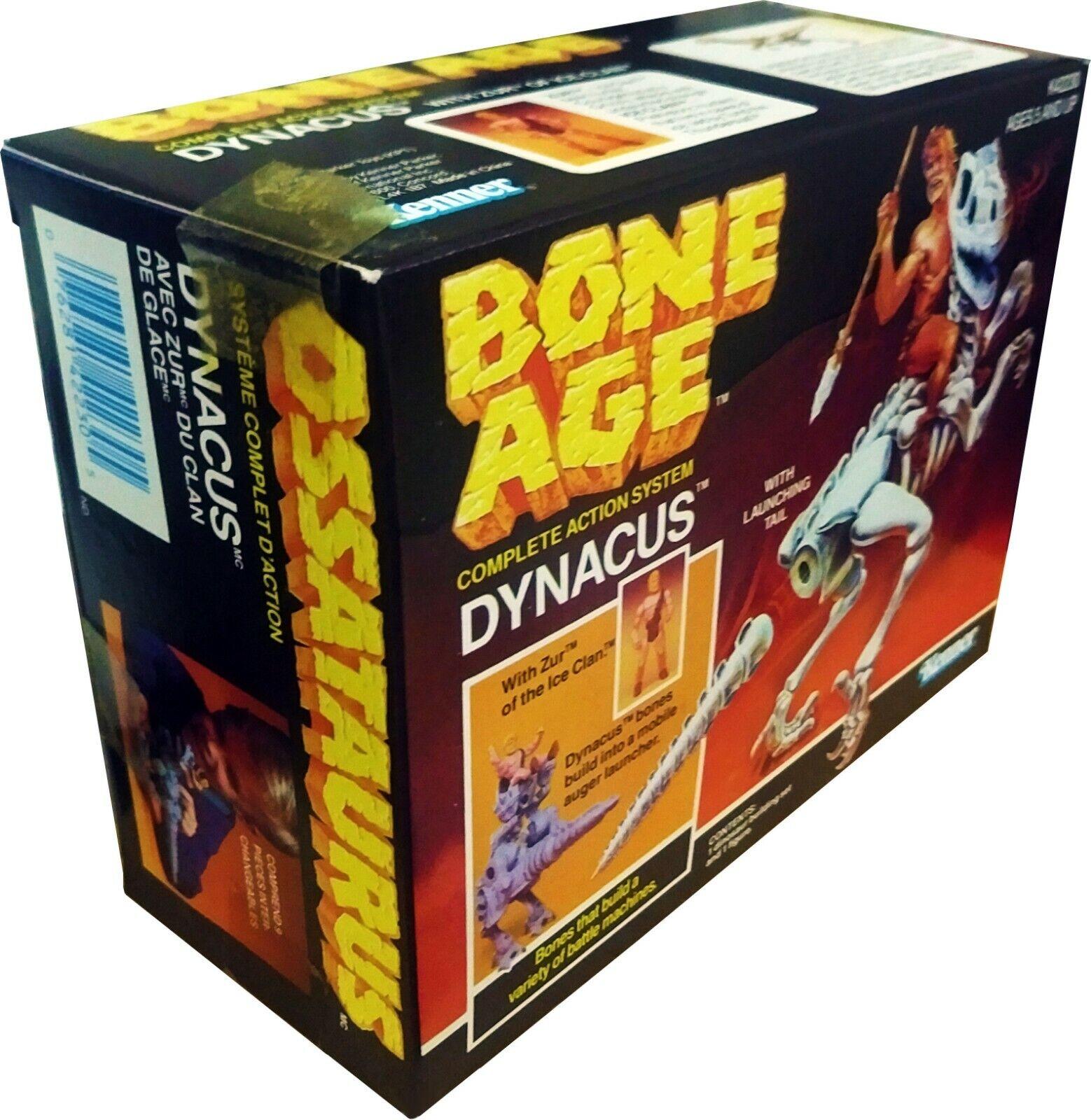 Bone Age, Dynacus w  Zur of Ice Clan ....    New   Mint in Sealed Box  MISB