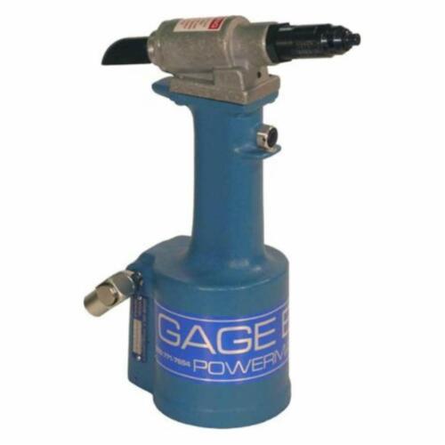 Pneudraulic Rivet Tool GB703 W//1//8 /& 3//16 Nose Tips 1 P Gage Bilt Power Tool