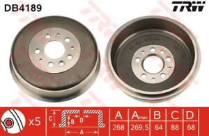 Drum Trw Rear Db4189 Axle Brake 5wT1aaxS