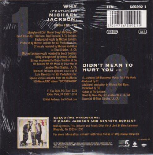 I NEED YOU GOTTA BE YOU NO PROMO MICHAEL JACKSON 3T LOT OF 7 CD BROTHERHOOD WHY