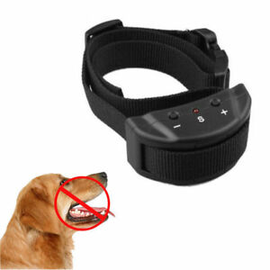 Anti-Bark-No-Barking-Remote-Electric-Shock-Vibration-Dog-Pet-Training-Collar-ON
