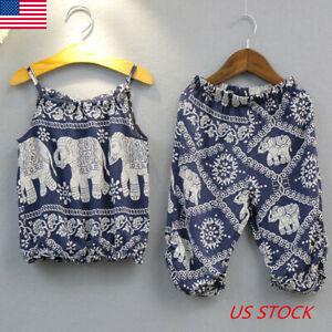 Newborn-Toddler-Infant-Baby-Girl-Clothes-T-shirt-Tops-Long-Pant-Outfits-Set-2pcs