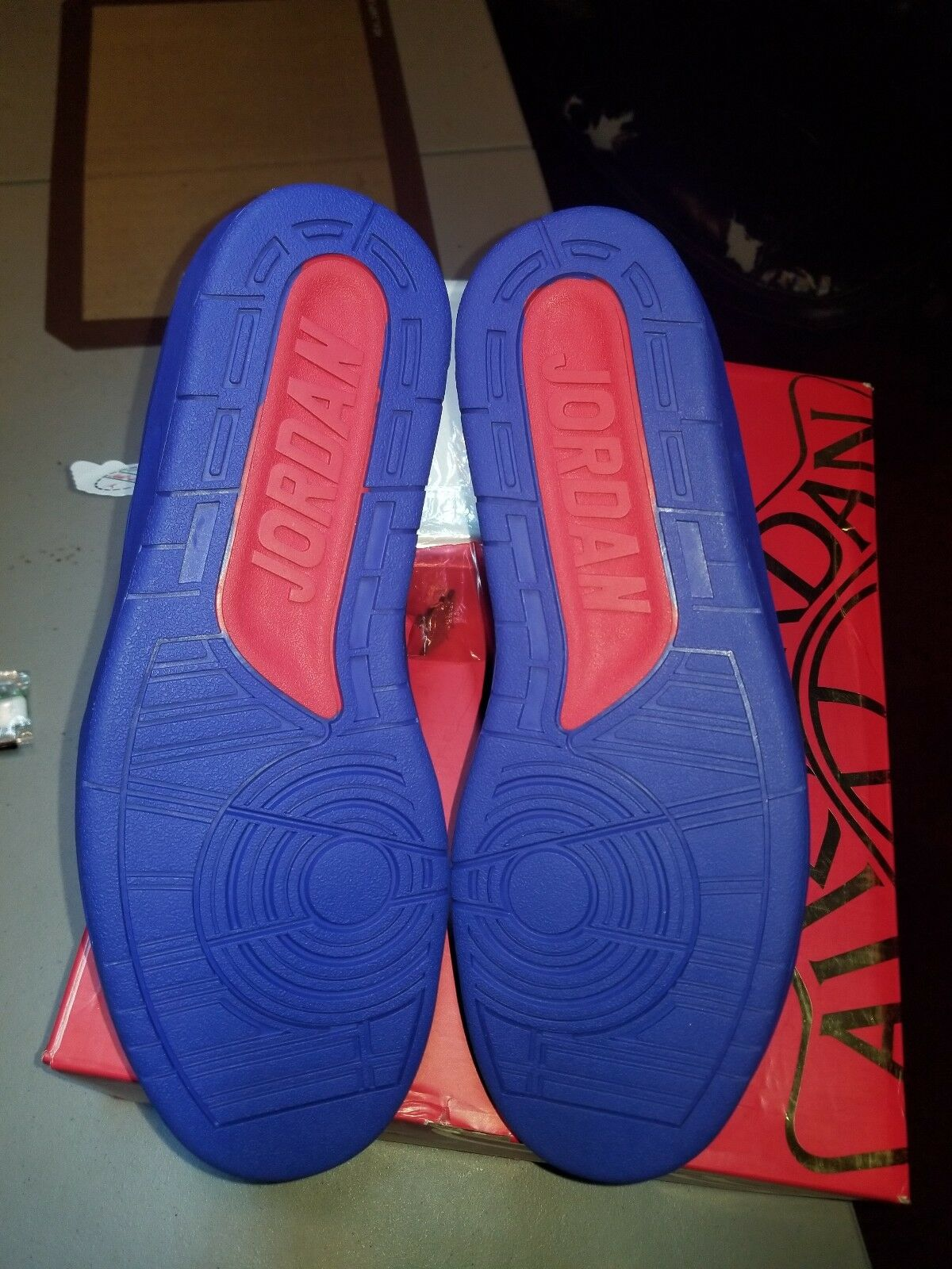 AIR JORDAN 2 RETRO DON C blueE blueE blueE SIZE 12 VERY LIMITED supreme kith channel BBC fdc355