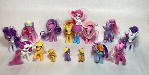 My Little Pony Lot of 15 Ponies Mixed Lot Of Sizes
