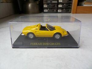 Ferrari-Dino-246-GTS-IXO-1-43-Miniature-with-Box-Showcase