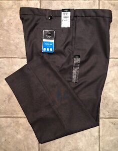 HAGGAR-Mens-Gray-Casual-Pants-Size-44-x-30-NEW-WITH-TAGS