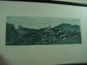 034-Ellwangen-an-der-Jagst-034-Ferdinand-Doerr-um-1910-gerahmt