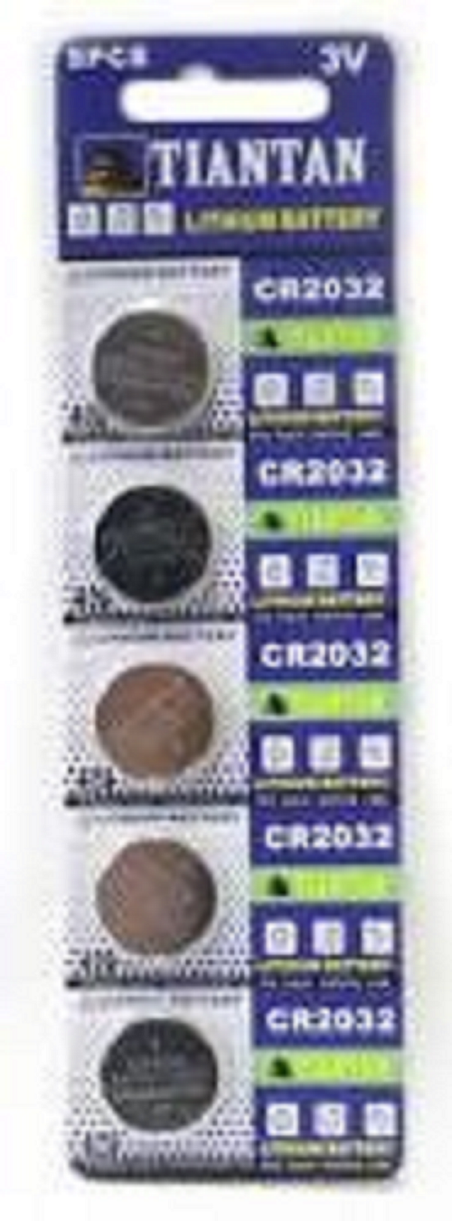 100 New TIAN CR2032 2032 LM2032 LR2032 DR2032 3V Lithium Battery from USA